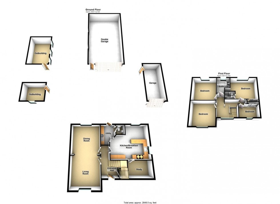 Floorplan for Tweentown, Cheddar